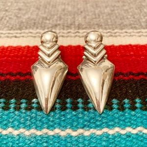 Sterling Deco Earrings